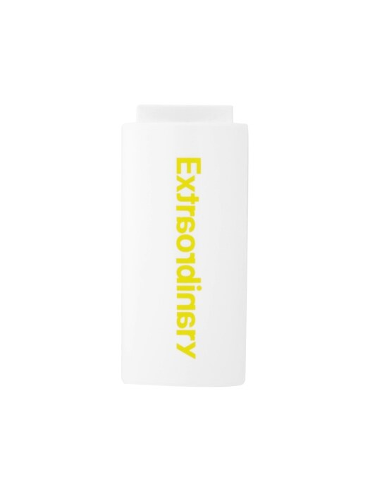 BASIC LOGO LIGHTER CASE WHITE/VOLT