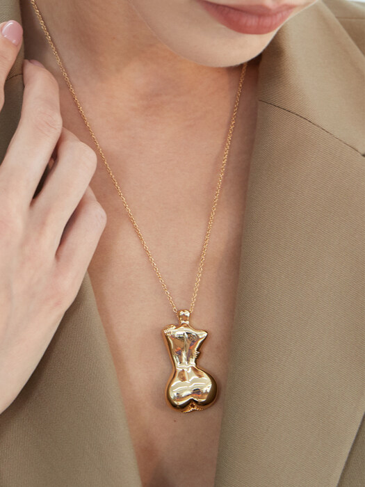 Love Body Necklace_Gold