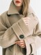 [EXCLUSIVE] Italian Wool NEW A-LINE HALF COAT