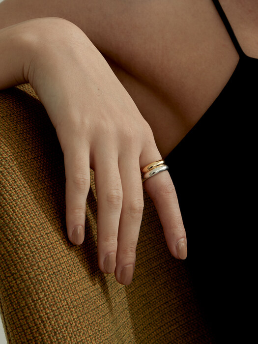 Simple Calm Band Ring (925 Silver).11