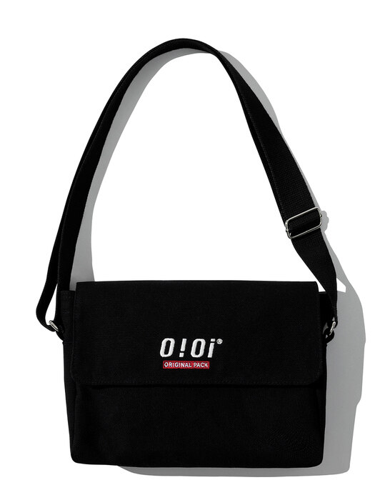 [ORIGINAL PACK] SQUARE CANVAS BAG [BLACK]