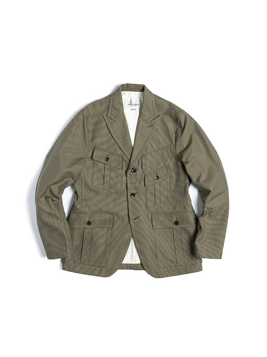EXPLORER JACKET / BEIGE GUNCLUB CHECK