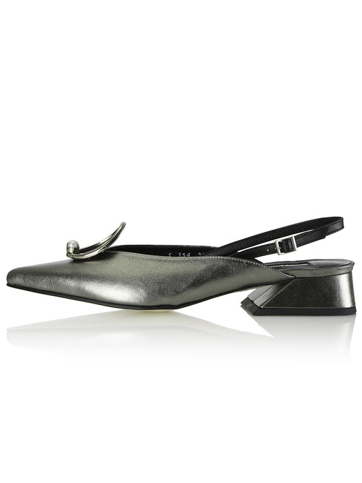 Zizi Sling-Backs / YS8-S354 Space Grey Shimmer