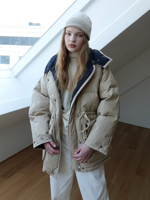 18LE WINTER HEAVY DOWN PADDING_BEIGE