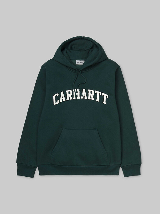 HOODED PRINCETON SWEATSHIRT-DARK FIR