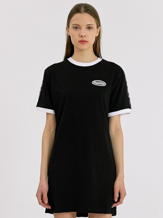 ROUND ITN LOGO ONE-PIECE / BLACK