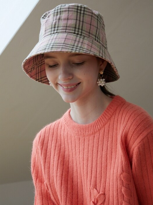 cheeck bucket hat_Pink