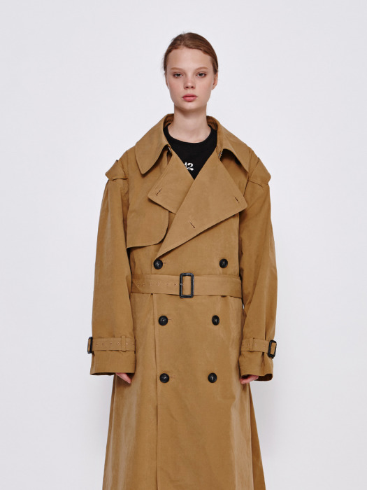Oversize Trench Coat (BE)