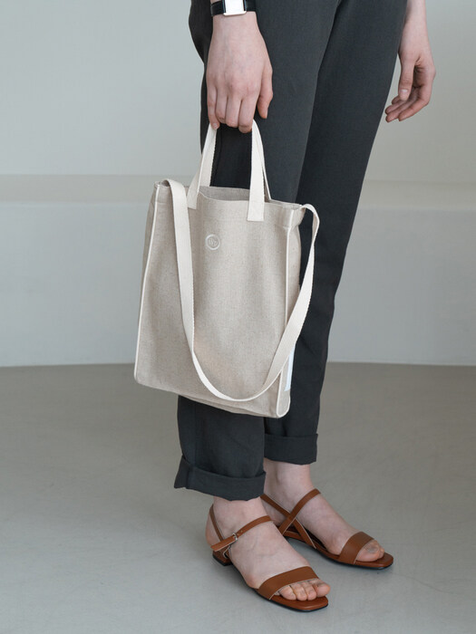biscuit bag (M)-ivory