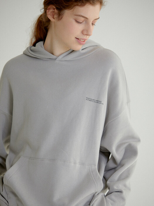 AUTHENTIC HOODIE(WARM GREY)