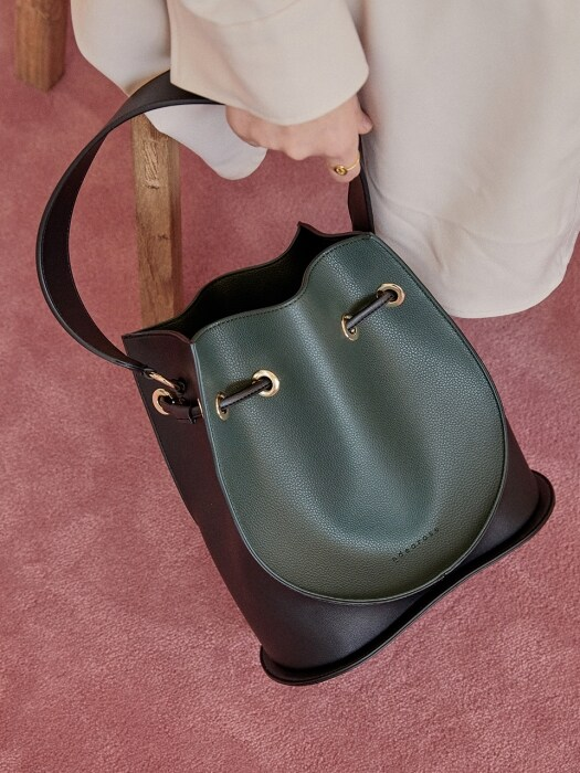 Luna Bag (Deep green)