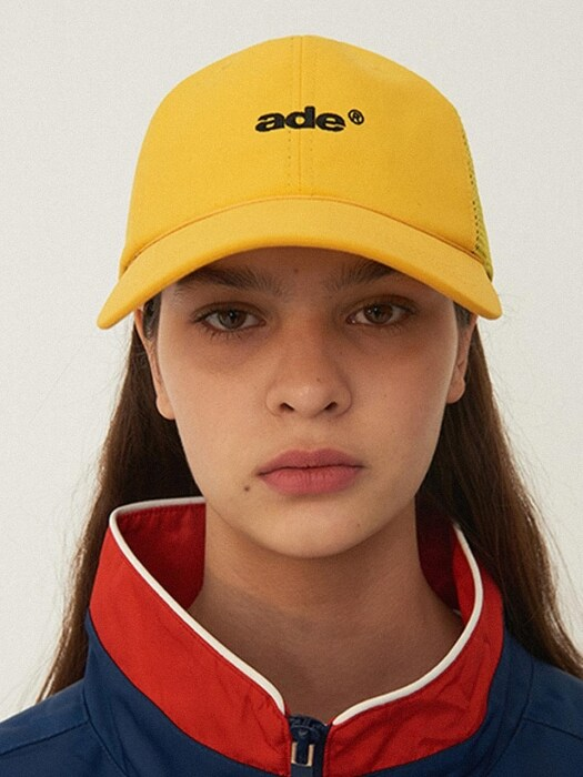Just fit Arrow mesh cap Yellow