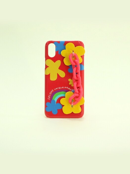SUN CASE CANDY CHAIN RED