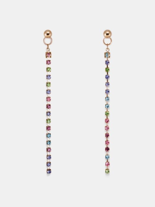 Candy Crystal `drop` earring