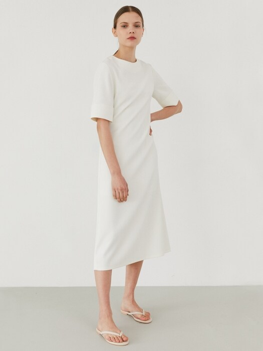 simple wearable dress-ivory