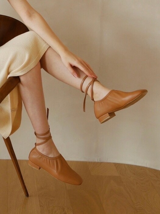 deil flat shoes-beige