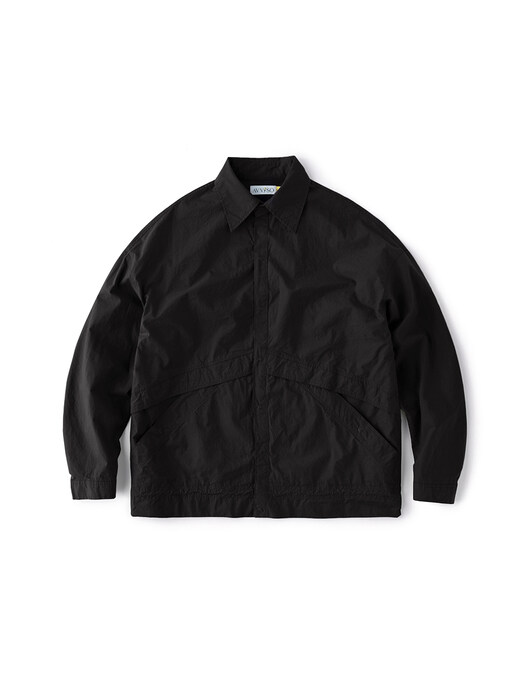 C. Shirt Jacket (Black)