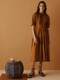 [Cotton Resort] Oversized Shirring Long Dress_2color