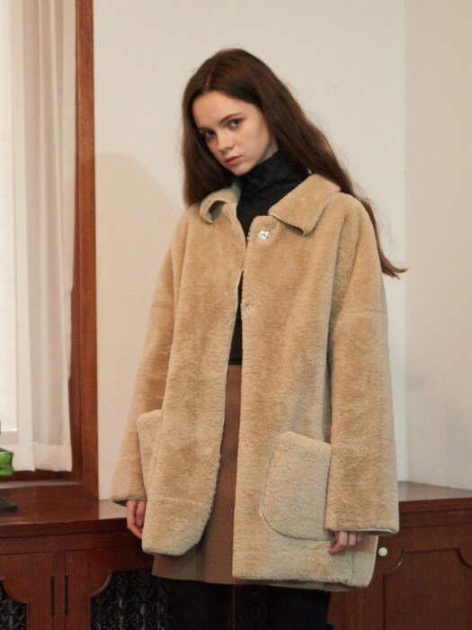 Mardrid Fur Coat (3color)