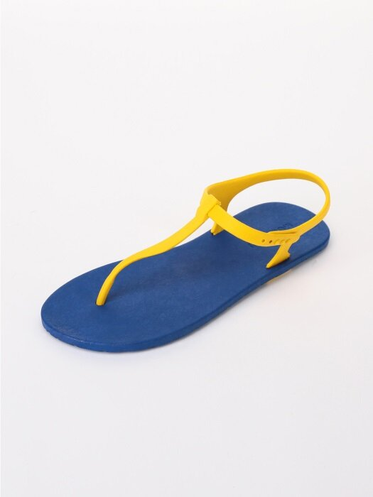 [WOMEN] Sandal, Blue-Yellow
