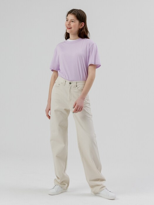 Cotton Long Pants [Cream]