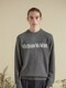 WHATEVERWEWANT CASHMERE KNIT [GRAY]