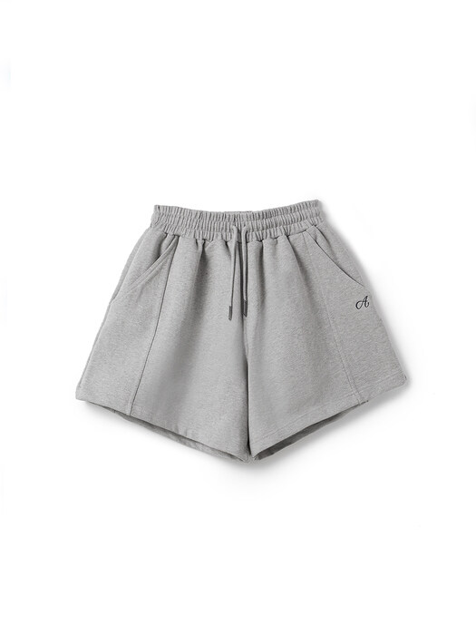 Avam Signature Track Shorts (GRAY)