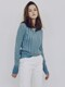 [FRONTROW x RePLAIN] Cotton Silk Ribbed Knit Top