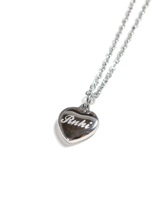 [FREE GIFT] SURGICAL STEEL HEART NECKLACE