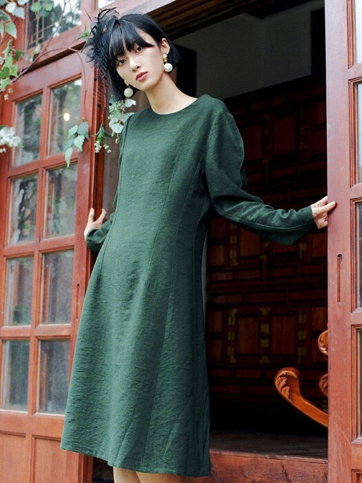Unique Dress _ Green