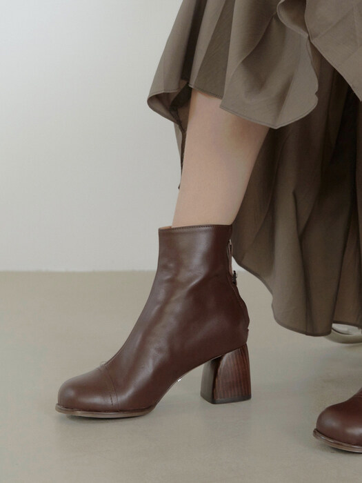 mallee ankle boots - burgundy