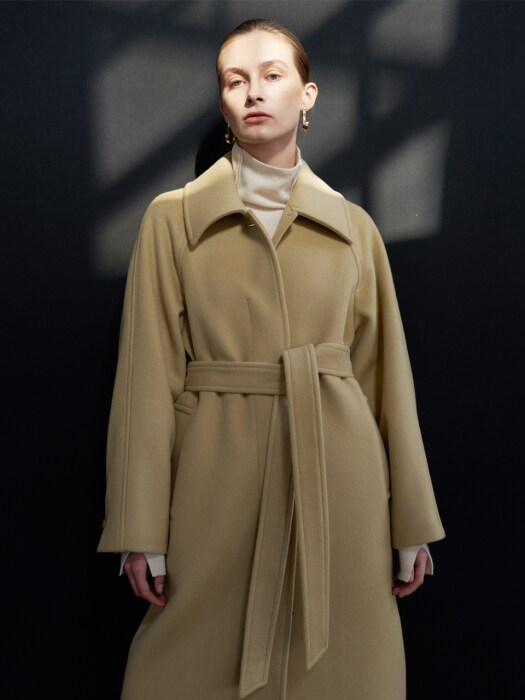 NTW PREMIUM SINGLE WOOL COAT 3COLOR