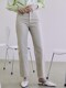 [20SS_NEW] Mid-rise Straight Jeans_Beige