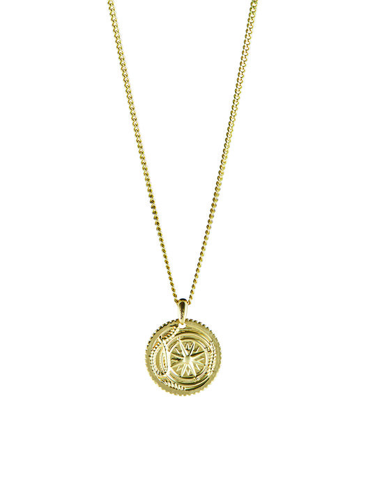 DoubleEight Voyage Necklace (Yellow Gold. 18kt)