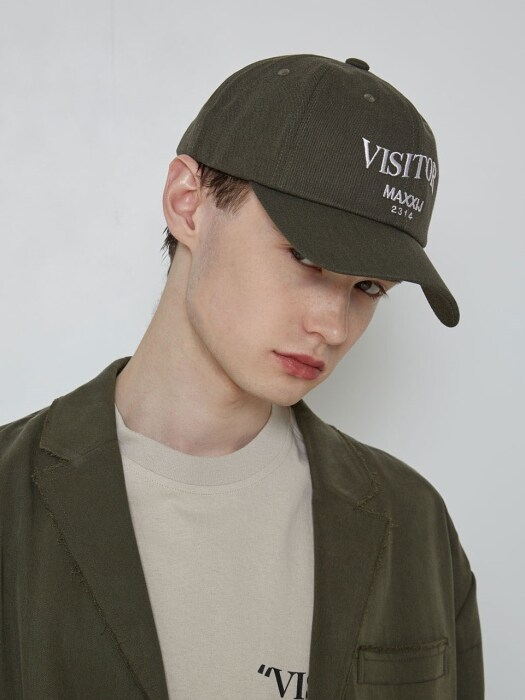 'VISITOR' Ball Cap Khaki (Genderless)