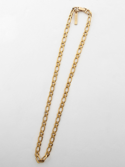 GOLD CHAIN NECKLACE (GOLD)