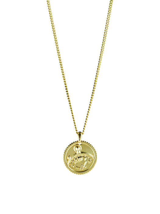 DoubleEight Revival Necklace (Yellow Gold. 18kt)