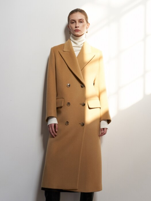 NTW PREMIUM DOUBLE WOOL COAT 3COLOR
