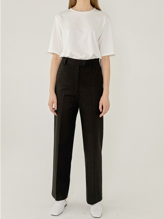 ZENA High-Rise Pants(BLACK)
