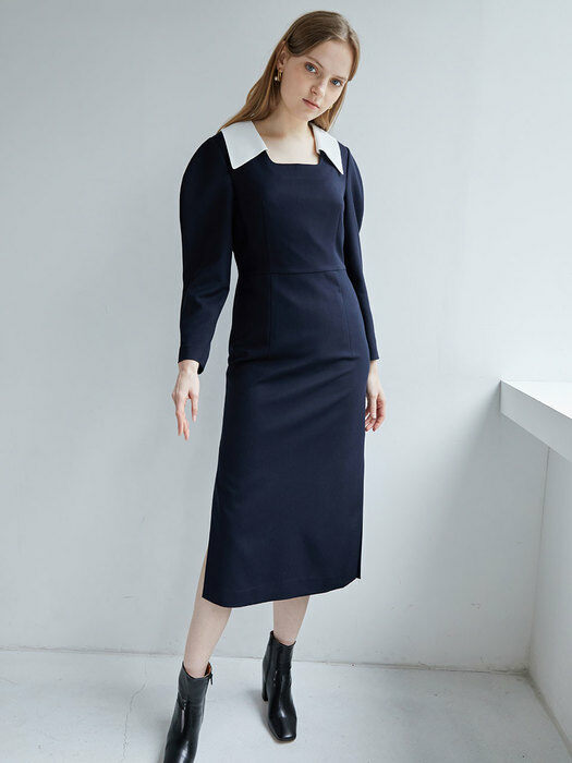Point collar dress (SW0AO309-24/SW0MO006-24)