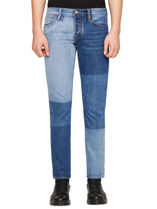 DAVID SLIM MULTI BLOCKING DENIM
