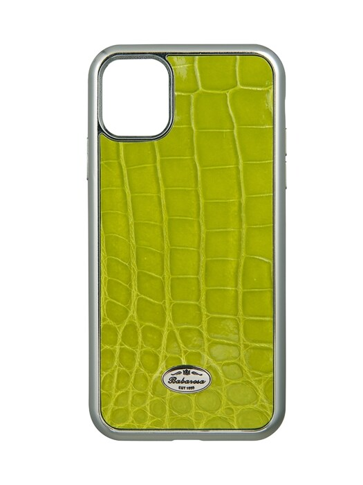 iPhone 11 pro/ iPhone 11 pro max crocodile Lime