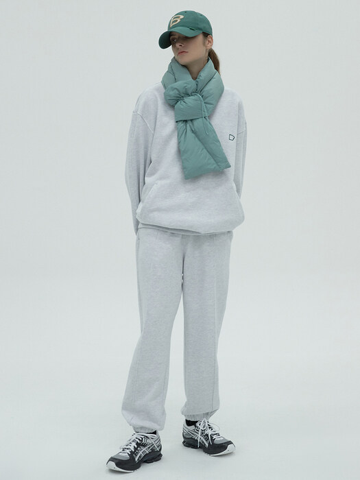MELANGE SWEAT PANTS - MELANGE