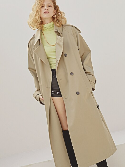 TIMELESS OVERFIT TRENCH COAT