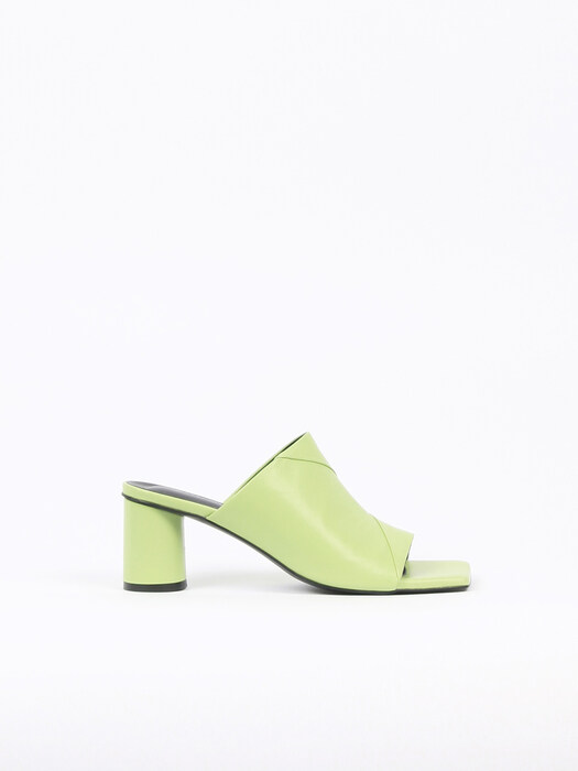Ari Sandals Leather Lime