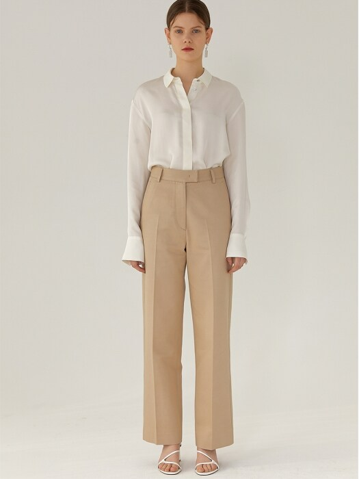 ZENA High-Rise Pants(BEIGE)