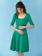 Jersey smocked alma dress