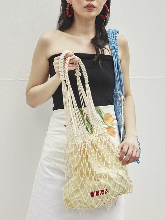 Garden net bag (2color)