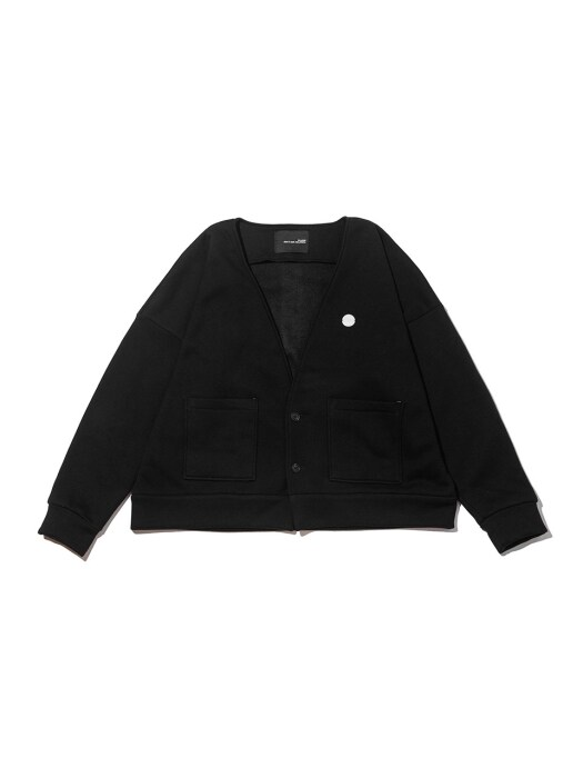 ATELIER SHORT CARDIGAN BLACK
