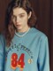 Fluff Print Sweatshirt in Blue_VW0WE3500